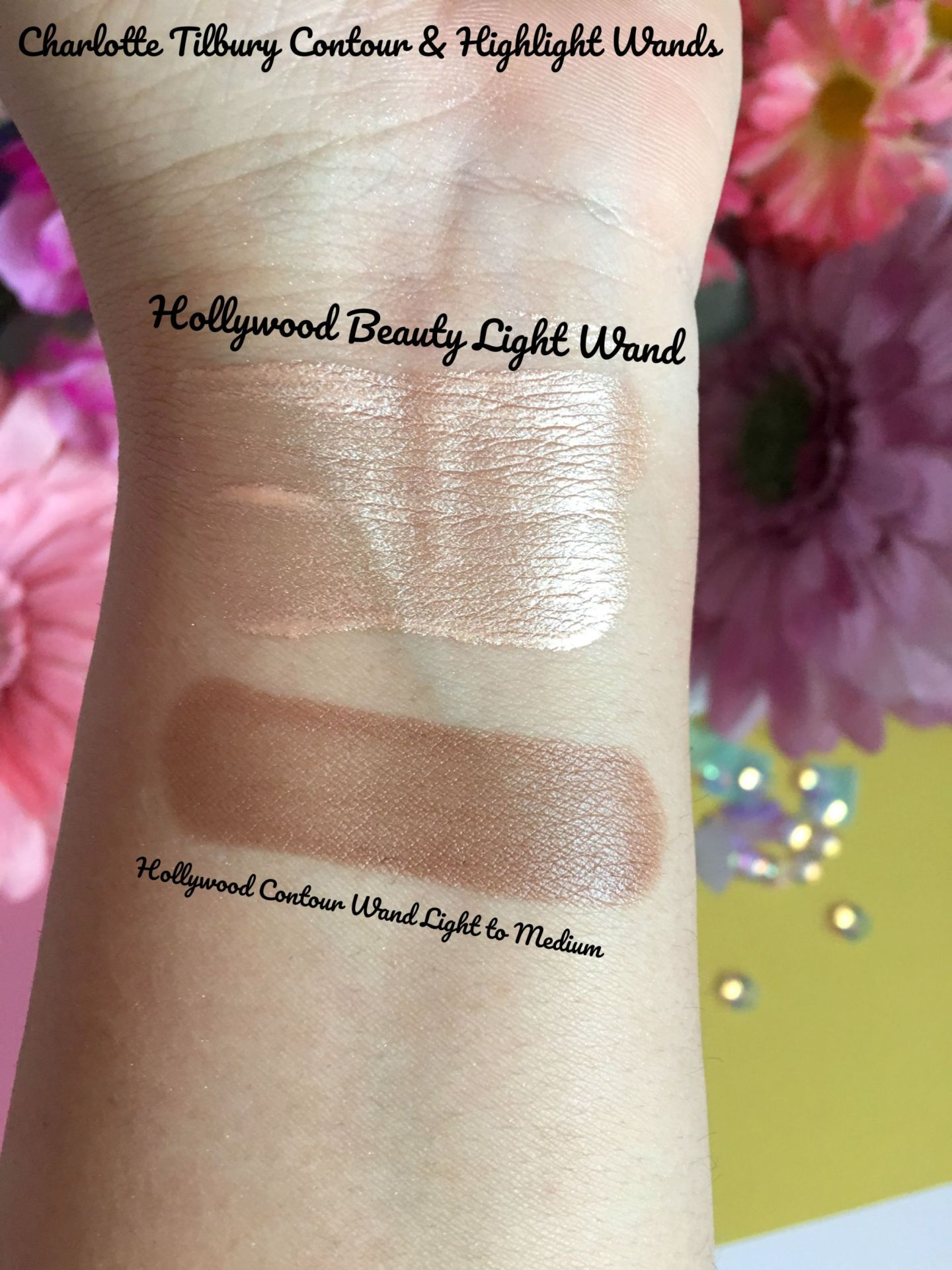 CT Contour & Highlight Wand Swatches Musings of a Makup Junkie