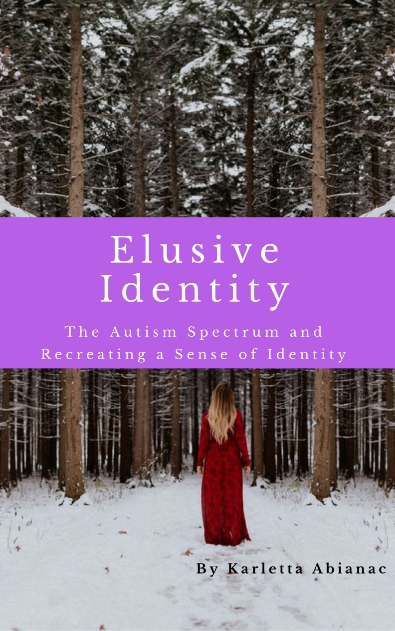 Ebook cover of memoir Elusive Identity
