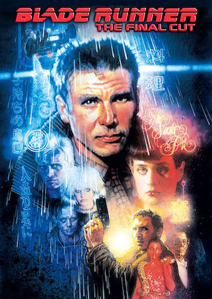 blade runner movie poster with Harrison plus cast