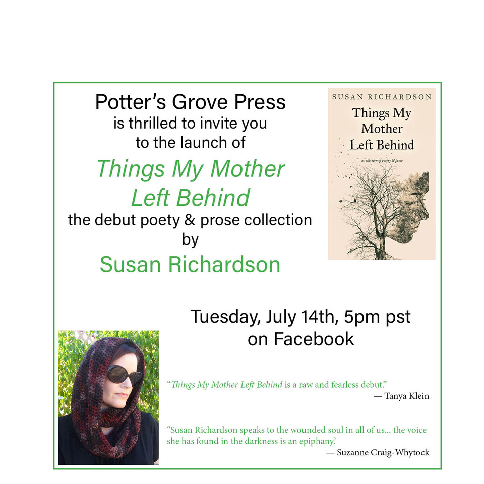 Invitation to live poetry reading on July 14th at 5pm