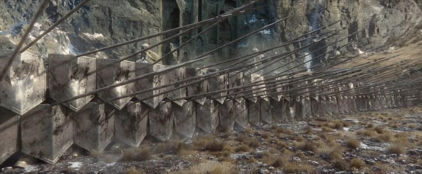 Hobbit Shield Wall