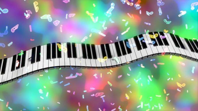 piano coloré: cours de musique pour enfants