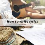 How to write lyrics with Ishana