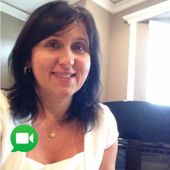 Piano Lessons with Diana in Burnaby BC