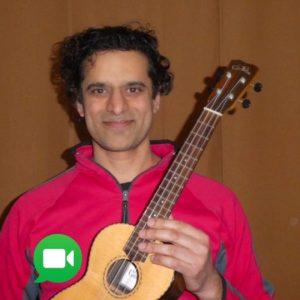 cours de ukulélé à Montréal à St-Henri avec Srikanth