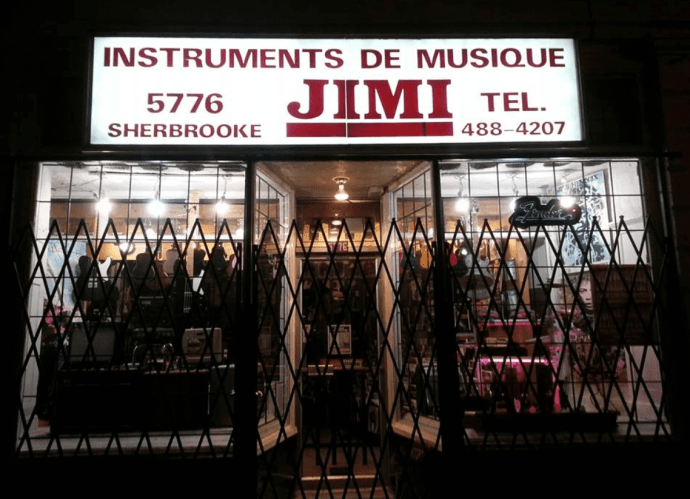 Jimmy's music store offers ukuleles from $80-$500 in Montreal.