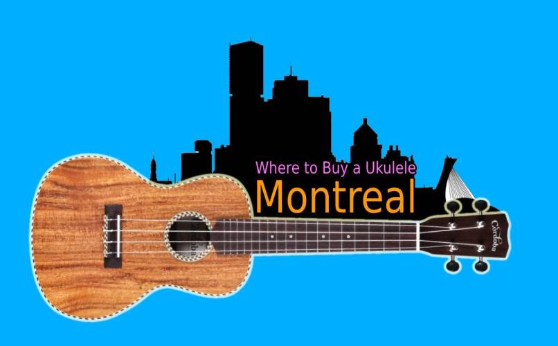Where to buy a ukulele in Montreal