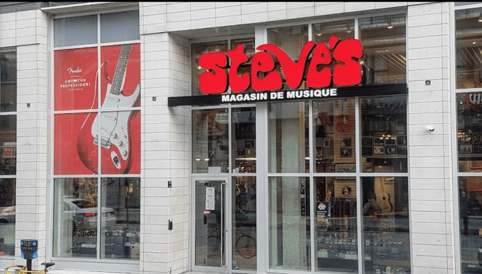 buy a ukulele in Montreal at Steve's music