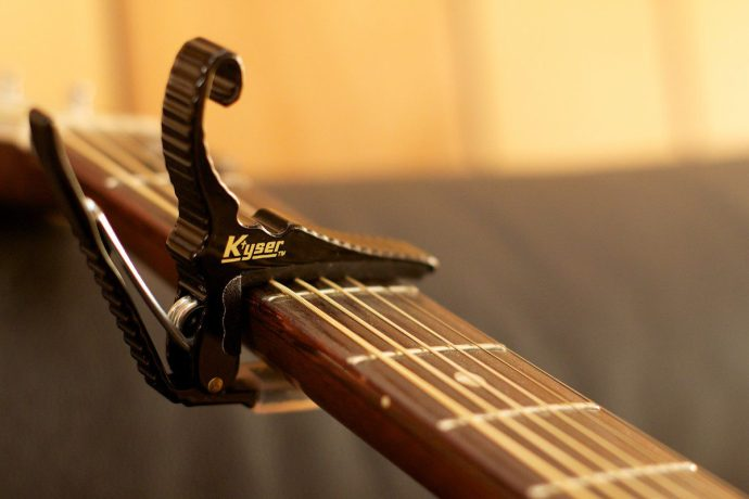 Capo to help you find the right key for easy guitar songs to play and sing