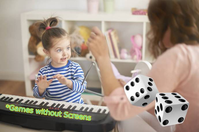 Piano Games for Kids - over 10 games without screens