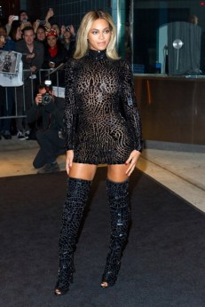 Beyonce SCREENING IN NYC 1
