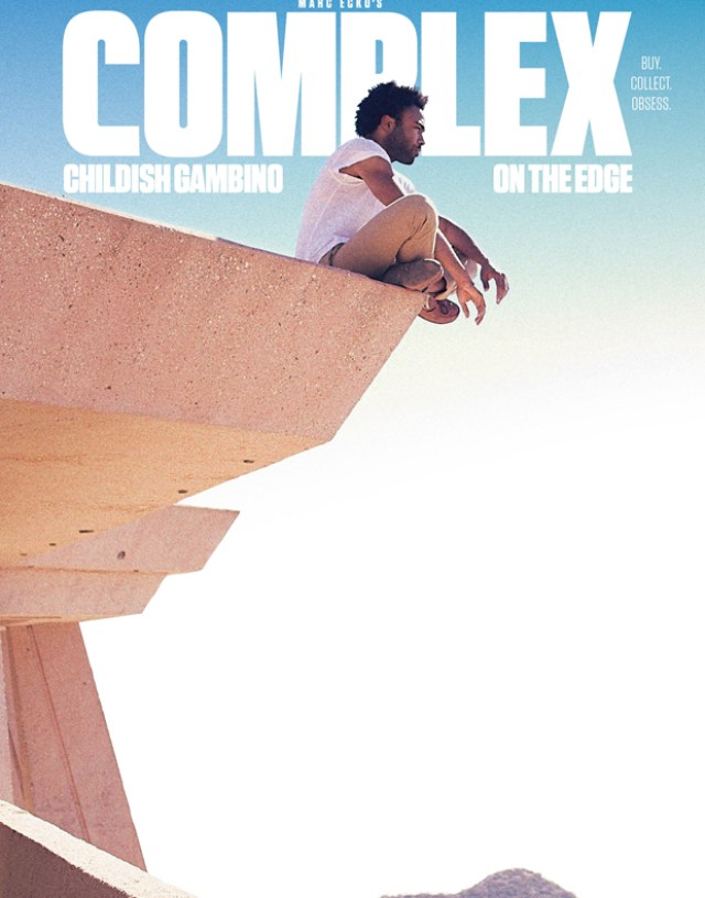 Childish Gambino Covers Complex's February March 2014 Issue
