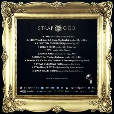 MG Da BadGuy - Strap God (Back Cover Art)
