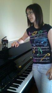 María piano