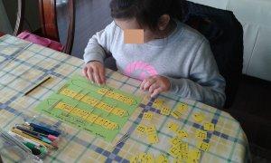 Marta completando compases