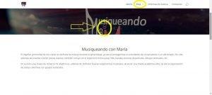 Captura pantalla McM flecha