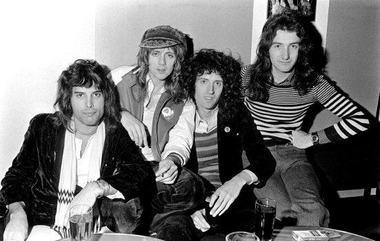 Queen en los Países Bajos 1974