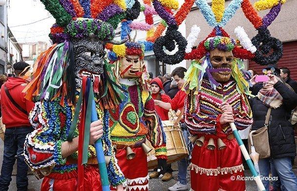 El carnaval en Galicia: o entroido