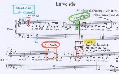 5 temas que aprenderás con la partitura de «La venda» (Eurovisión)