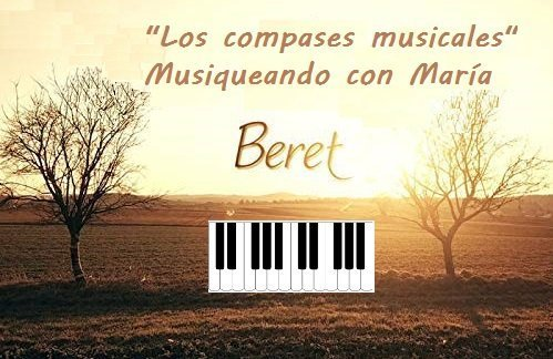 Los compases musicales Beret McM 1