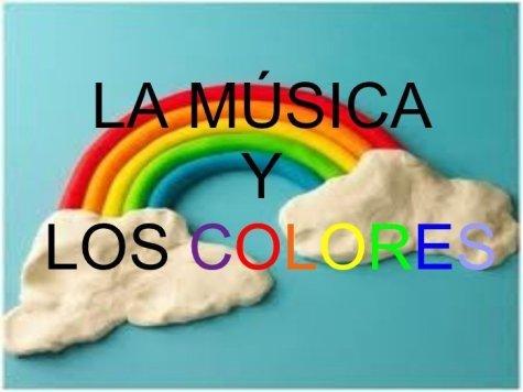 La música y los colores