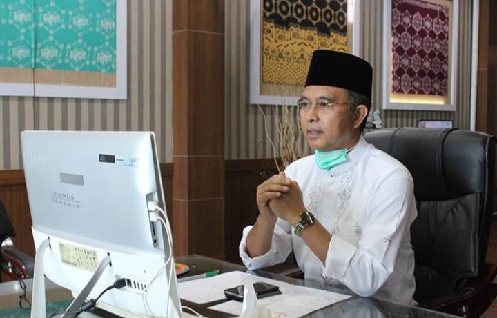 Bupati Gelar Halal Bihalal Virtual Bersama Kades di 5 Kecamatan
