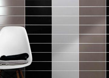 Piastrelle per bagno bianco nero ristrutturazione interiorbe