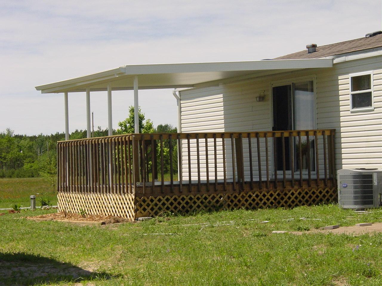 home metal deck awnings 04 muskegon