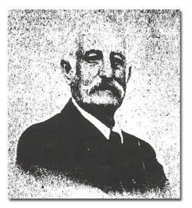 Muskerry's first president Sir George Colthurst