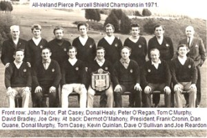 1971 All Ireland winning Muskerry Pierce Purcell Team
