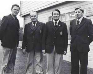 1977 larry mccarthy captain irish team