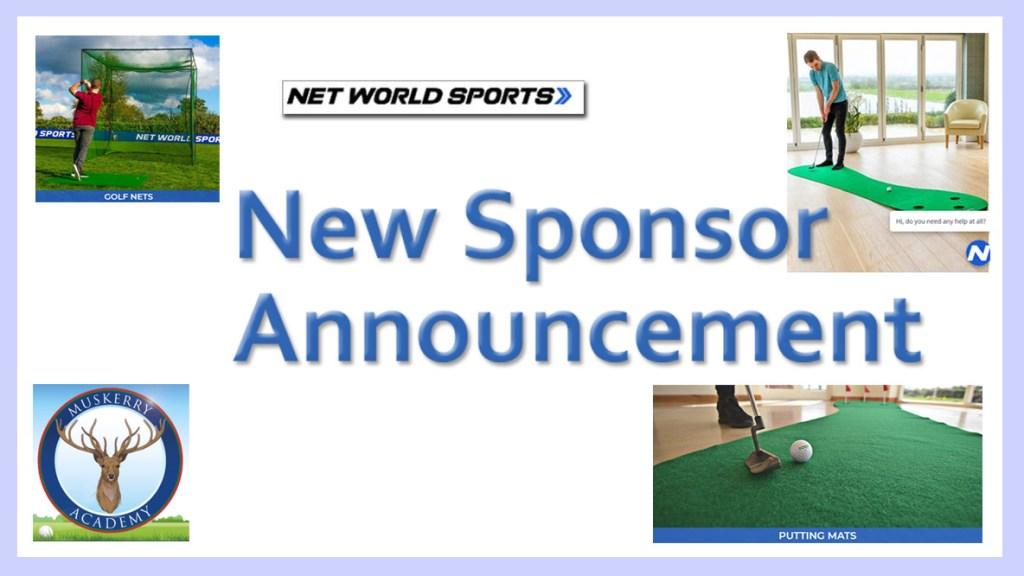 new sponsor announcement