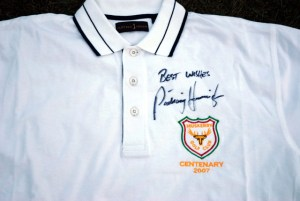 Best wishes from British Open Champion Padraig Harrington