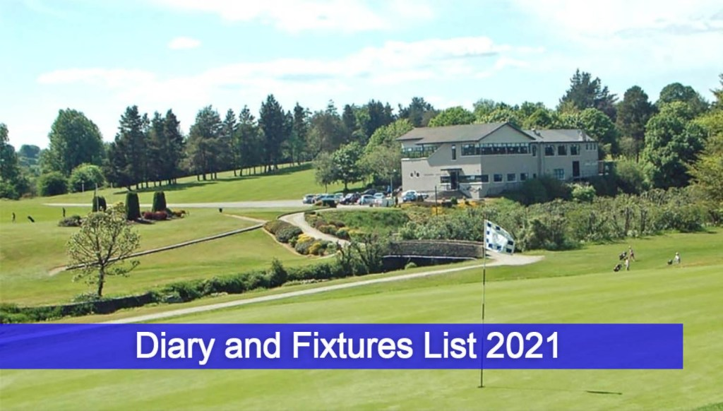 diary and fixtures list 2021