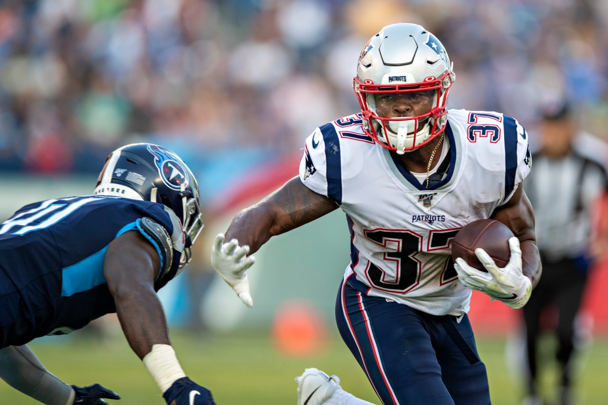 Patriots: Rushing attack will be unstoppable when Damien Harris and James  White return