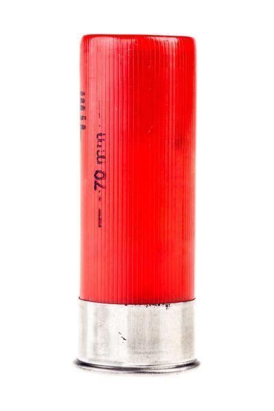 a 12 gauge shotgun shell