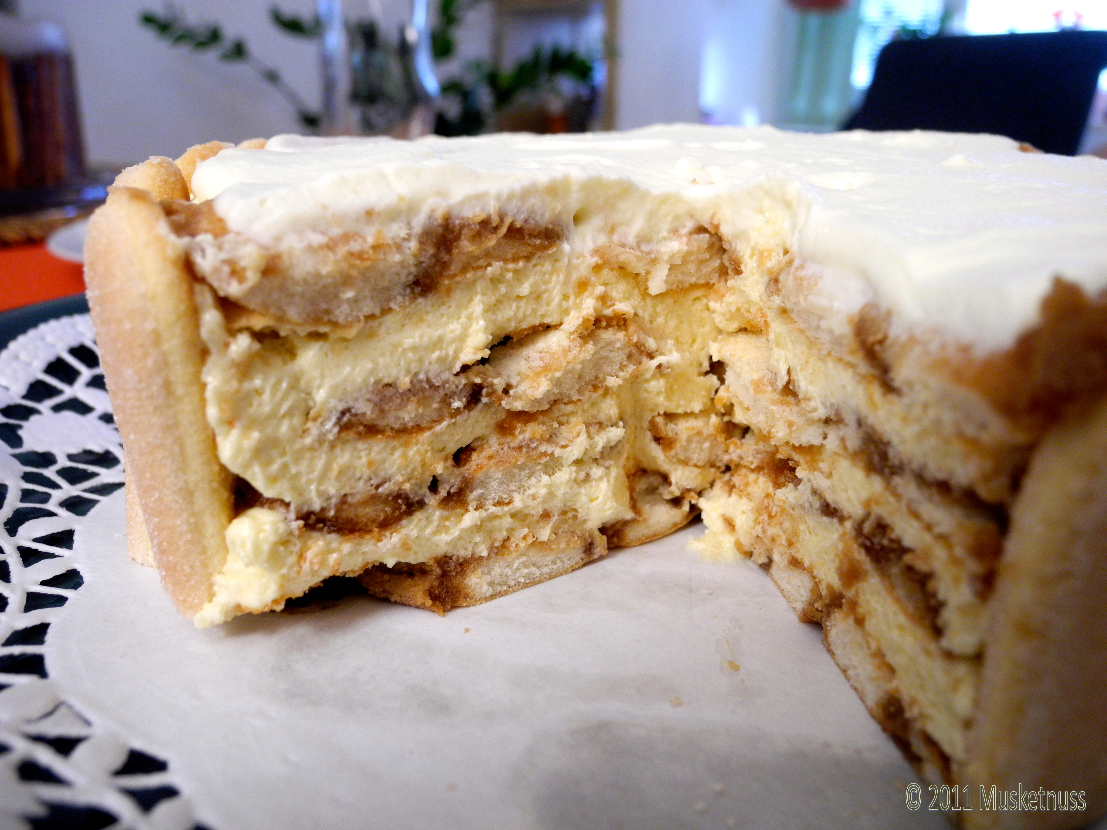 Malakoff Cake  I really take the cake