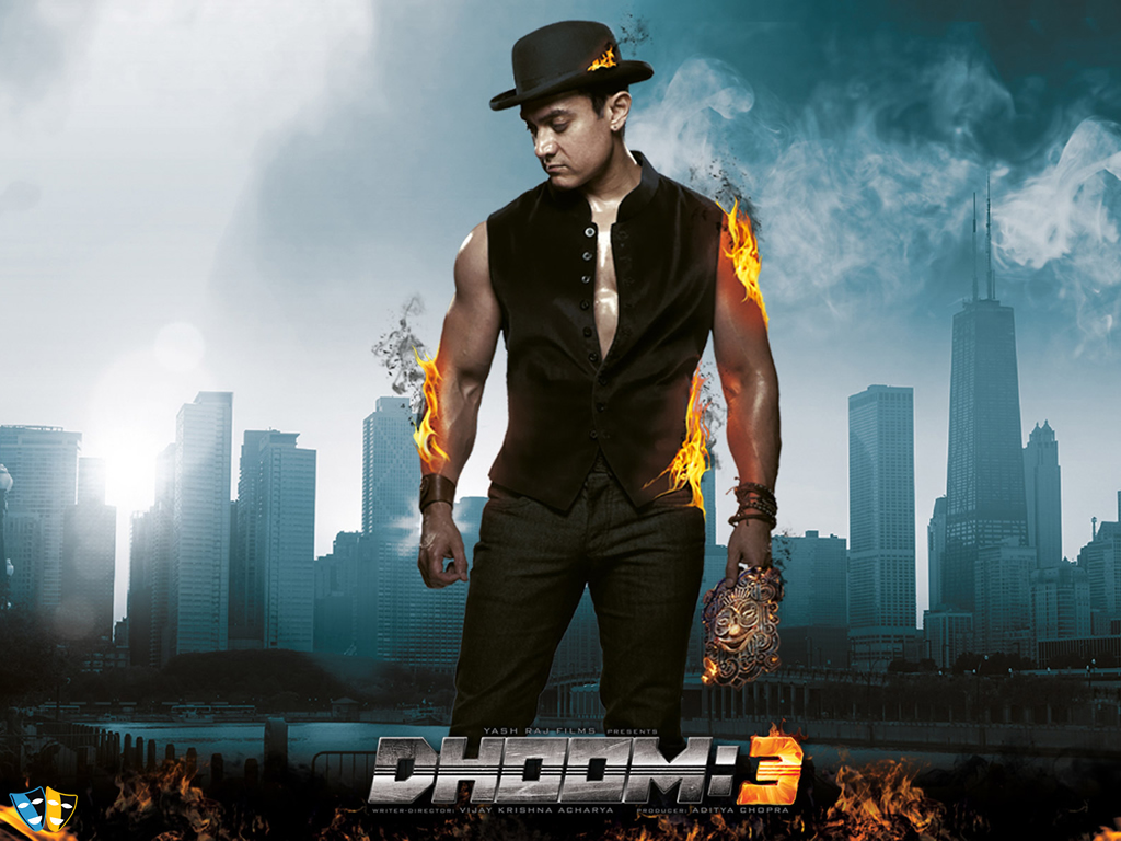 Dhoom 3 Desktop Wallpaper 40031 Movies Wallpapers