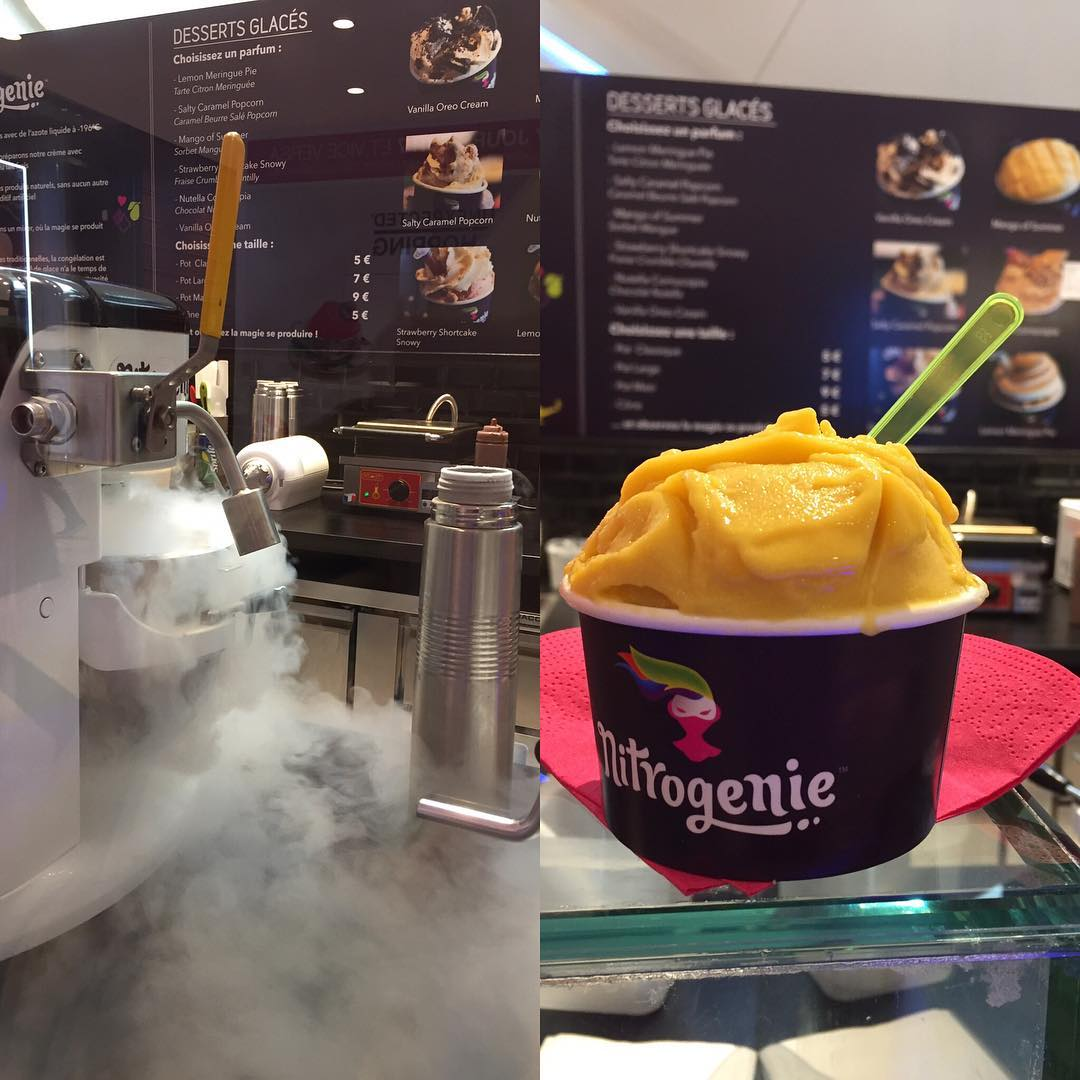 Amazing!! An ice cream in 2 minutes!! Une glace enhellip
