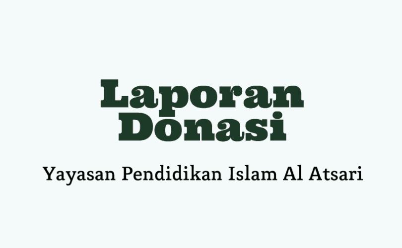 Laporan Donasi YPIA Periode Bulan Januari 2017