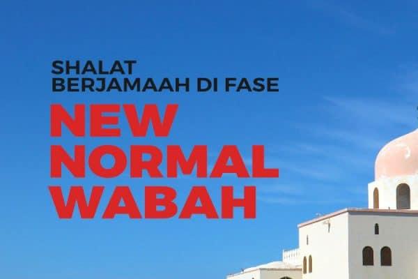 shalat berjamaah fase new normal