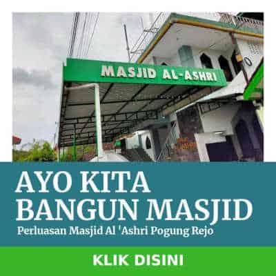 Donasi Masjid Al-Ashri