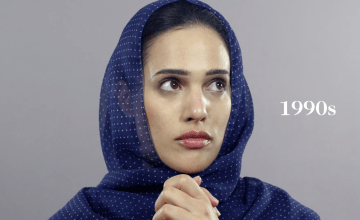 Here's 100 Years of Iran's Beauty Standards in One Minute