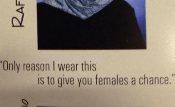 Muslim Girl's Yearbook Quote Breaks Internet