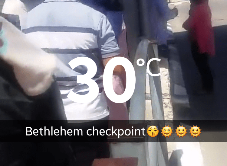 Snapchat is Featuring a Live Story on the West Bank Today