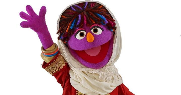 Zari, Sesame Street, Afghan girl muppet, Baghch-e-Simsim