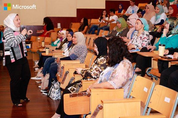 Microsoft's Ghada Khalifa Says Women in Tech Are the Answer