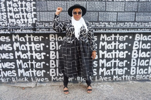 I Posted a Picture in Front of the #BlackLivesMatter Wall and the Internet Went Crazy