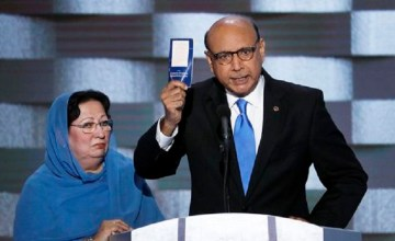 Khizr Khan Took Over the DNC & Schooled Trump on What Patriotism Looks Like