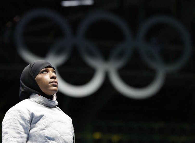 She's Done It! Ibtihaj Muhammad Just Earned an Olympic Medal for the US